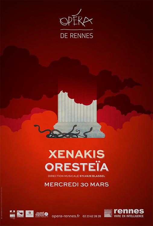 Xenakis, L'Oresteia - Opéra de Rennes
