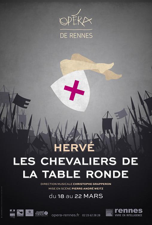Hervé Les Chevaliers de la table ronde