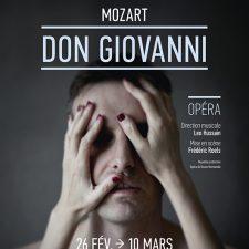 Affiche Mozart, Don Giovanni