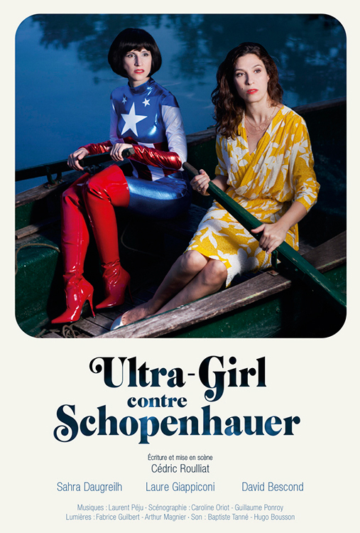 Affiche roulliat, Ultra Girl contre Schopenhauer