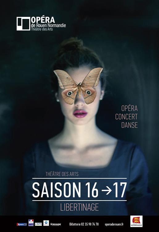 Affiche Saison 2016 2017 Opéra de Rouen