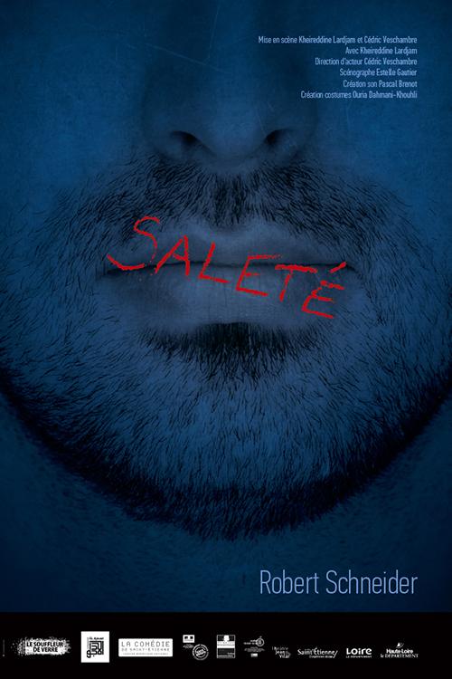 Affiche Schneider Saleté Cie Souffleur de verre 40 x 60 cm Offset