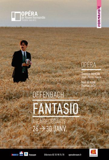 Offenbach, Fanstasio – Opéra de Rouen Normandie
